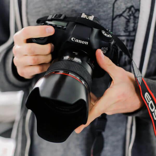 camera fotografica canon t6i
